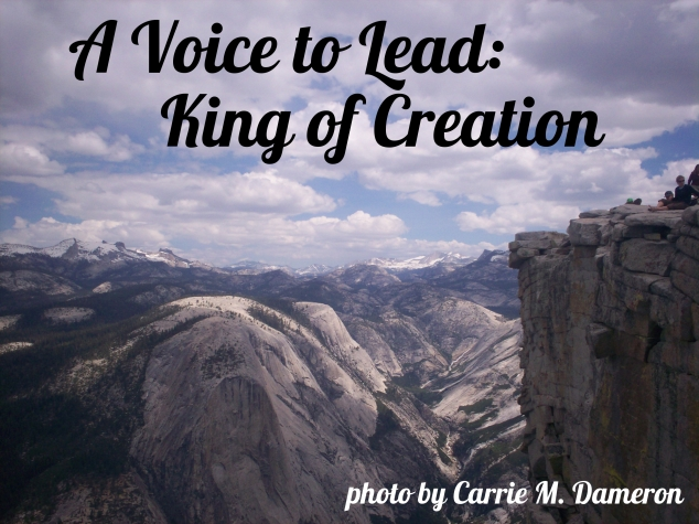 A Voice to Lead_King of Creation